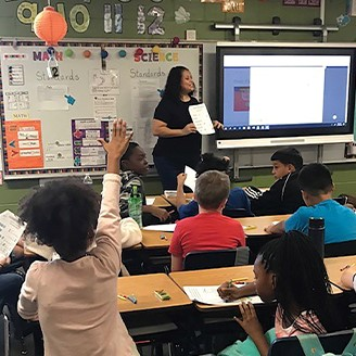 Orange County Public Schools Teach-In Day Shenandoah Elementary
