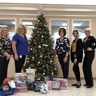 Pine Crest Elementary Angel Tree Toy Drive