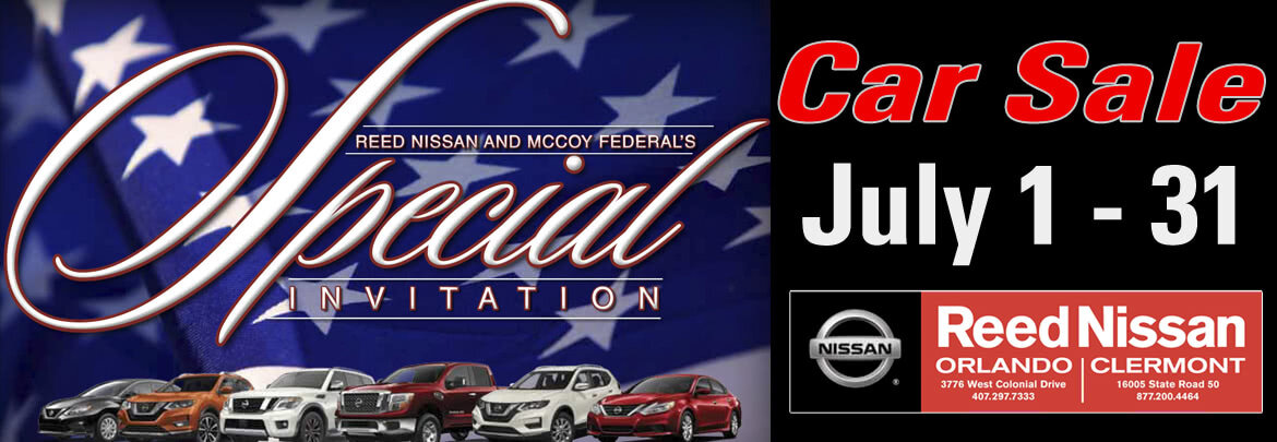Reed Nissan Car Sale